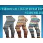 Patrones Para Elaborar Leggyns,licras Top Monos Moldes