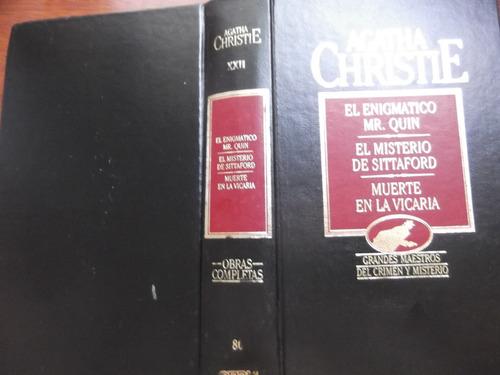 3 Obras Agatha Christie Tapa Dura Orbis T22 Enigmatico