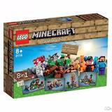 Lego Minecraft  21116 Original  Caja Creativa De Trabajo