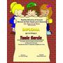 Pack 7 Diplomas Preescolar En Psd