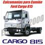 Kit De Calcomanias Para Camion Ford Cargo 815