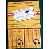 Monitor 10,4 Tft Lcd Para Techo + 2 Audifonos Inhalambricos