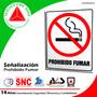 Señalización Prohibido Fumar - S152