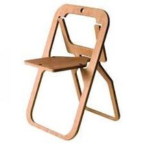 Moderna Silla Plegable Minimalista