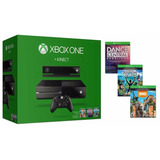 Xbox One 500 Gb+kinect+juegos