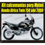 Kit Calcomanias Para Motos Honda Africa Twin 750 Año 2000