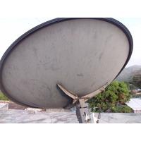 Antena Parabólica Satelital 2.4 Mts + Lnb Bandac Profesional