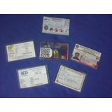 Fundas Plasticas Para Licencias,rcv,cert Medico 10 Unidades