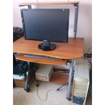 Mesa Para Computadora De 3 Niveles Y Porta Cd