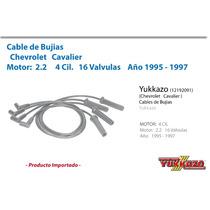 Cables Bujias Cavalier 4cil Mot 2.2 16val 95 - 97