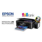 Epson L365 Impresora Multifuncional  Wifi Tinta Continua