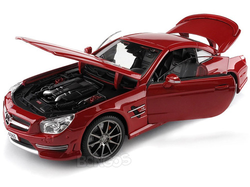 mercedes benz sl 63 amg coupe maisto premier 1 18 bs f. Black Bedroom Furniture Sets. Home Design Ideas