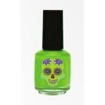 Pintura De Uñas Sugar Calavera Dci X Unidad - Color Verde