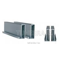 Perfil Aluminio Puertas De Vidrio Herrajes Cocina Empotrada