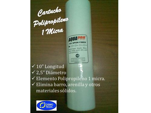 Filtro agua cartucho osmosis inversa polpropileno 1 - Filtro agua osmosis ...