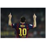 Afiches Futbol Messi Cristiano Real Madrid Barcelona