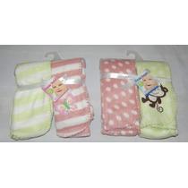 Duo De Mantas Cobijas Cobertor Para Bebes