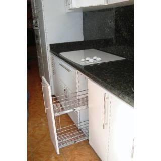 Herraje mueble cocina condimentero especiero botellero bs - Mueble botellero cocina ...