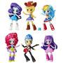 Pack De 5 Figuras Mini Equestria Girls My Little Pony Baile