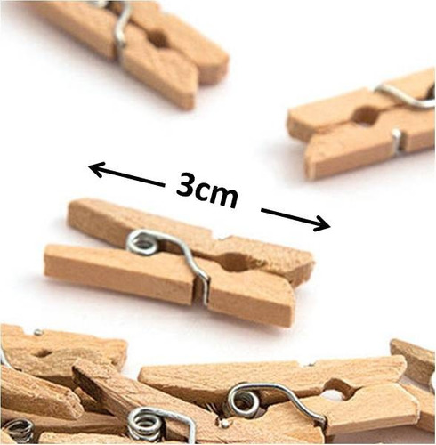 Gancho de madera mini 3cm manualidades recuerdito 850 for Cuanto sale hacer una pileta de material 2016