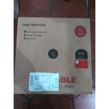 Cable Thhn #12 Awg 600v Por Rollo