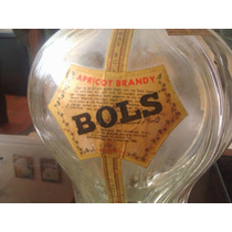 Botella Quadruple Bols De Licores Dulces, Francesa, De 1960.