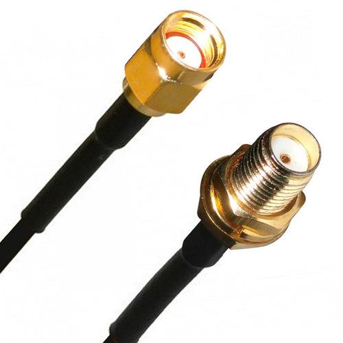 Cable 9mts antena wifi 10dbi router rp sma internet for Cable antena tv precio