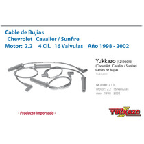 Cables Bujias Cavalier / Sunfire 4cil Mot 2.2 98 - 02