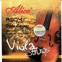 Set De Cuerdas Para Viola Alice A904 Nuevas