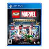 Juego Lego Marvel Collection Ps4  ¡totalmente Nuevo!