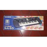 Teclado Organo Piano Casio Sa 65 Usado