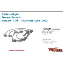 Cable Bujias Daewoo Tacuma Mot2.0 4cil 2001-2002 1 6val
