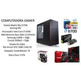 Computadora Gamer Intel Core I7 Gtx 1080 40gb Ram Ddr4