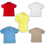 Uniformes Escolares Chemises Azul Niño Y Niña Chemise Blanca