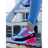 Zapatos Nike Air Max 3d Dama Gym Colombianos Doble Suela