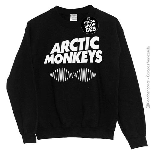 04b00de11864f Sweater Arctic Monkey Suéter Sin Capucha Dama Y Caballero