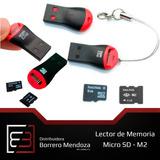 Lector De Memoria Micro Sd Adaptador Tipo Pendrive Usb