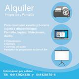 Alquiler De Video Beam, Pantalla Y Laptop