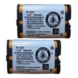Batería Para Panasonic P107,  3,6 V 700mah