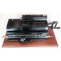 Máquina Calculadora Antigua Original 4 Op. Modelo Año 1919.