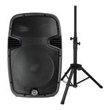Corneta Amplificada 15 Pulgadas Bluetooth 1500w + Paral 210v