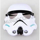 Máscara Plástica Stormtrooper  Star Wars Para Niños