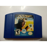 007 The World Is Not Enough Juego De Nintendo 64 N64