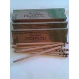 Caja De 12 Lapices Mongol Natural Ecologico Originales Nuevo