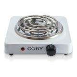 Cocina Electrica Coby Cy3327-th01 1 Hornilla Blanca