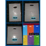 Bolsas Plásticas Tipo Boutique 20x30 ( Pequeñas )