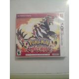 Juego Original Pokemon Ruby Omega 3ds