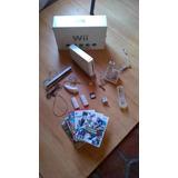 Vendo Wii Barato Con Todo Sus Accesorios Y Juegos Originales