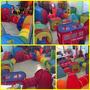 Tuneles De Gateo-fiesta Infantil-toldo-juegos-mesas Y Sillas
