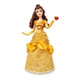 Muñeca Clásica Disney Bella Original Con Anillo 30cm